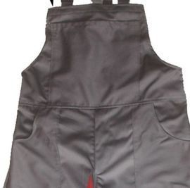 工作服定做男装加厚作训服食品企业防尘背带工装裤子