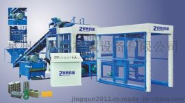 广东潮州市连锁砖砖机 自动小型粘土砖机 多功能液透水砖砖机