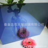 4mm 2140*1650mm寶石藍膜 深藍膜 幕牆玻璃