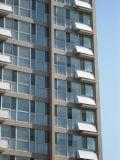 济南军区四所阳台壁挂太阳能热水工程