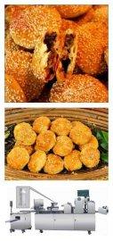 上海三道擀面酥饼机商用全自动绿豆饼机刀切馒头机酥饼机操作