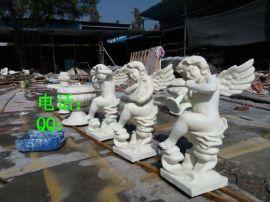 砂岩天使雕塑 砂岩天使人物雕塑 欧式砂岩天使人物雕塑摆设