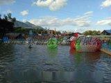湖南广场充气水池滚筒 移动水上乐园全森玩具厂直销
