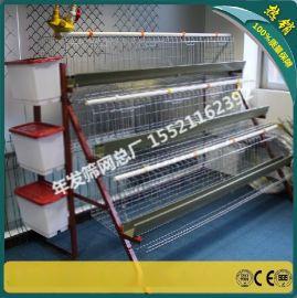 A字型蛋鸡笼阶梯四层 鸡笼自动化养殖设备 出口鸡笼子的广州厂家