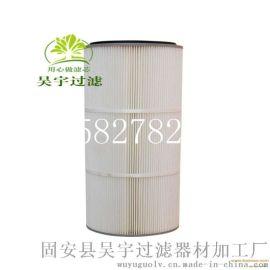 3266聚酯除塵濾芯/ PTFE腹膜粉塵濾筒