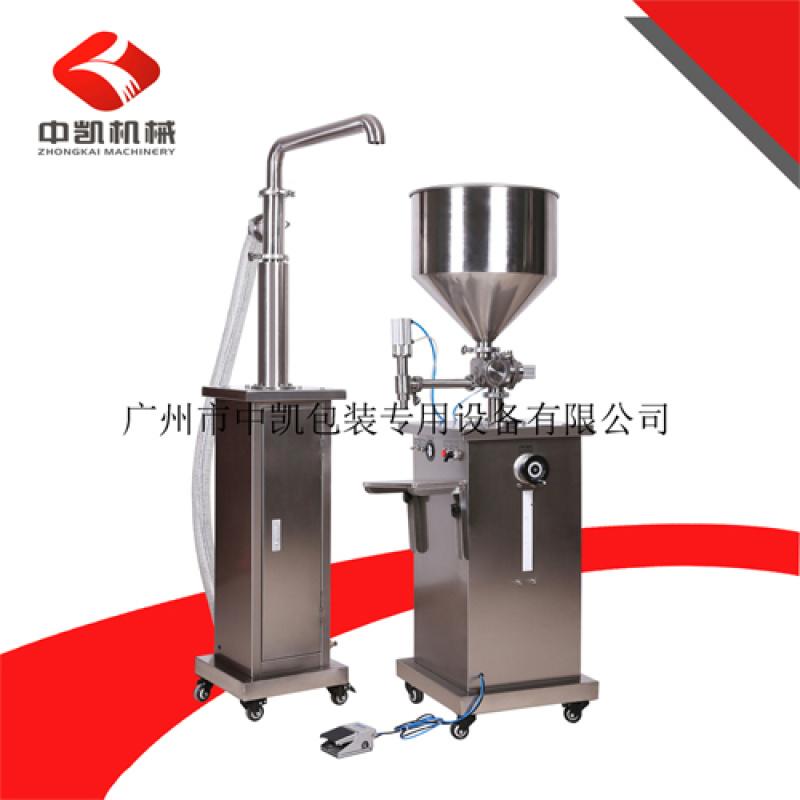 广州中凯厂家直销ZK-B5C1半自动液体灌装机