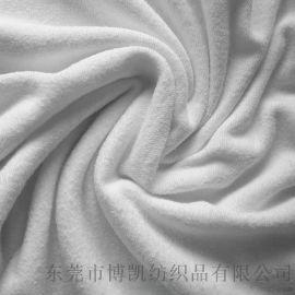 供应涤棉毛巾布 酒店浴袍**用品材料 超细纤维面料