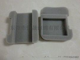 厂家生产加工电子产品包装海棉内衬耳机内衬