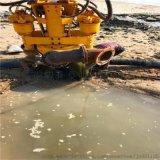 便拆式挖机挂载液压排沙泵