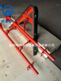 皮帶機尾部空段O型聚氨酯分料器 空段V型清掃器