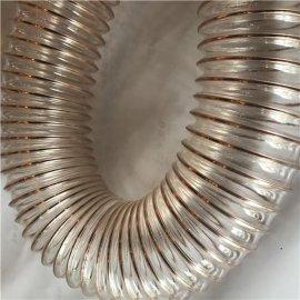 高耐磨钢丝镀铜PU增强管山实出品塑料管