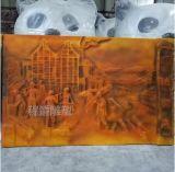 浮雕雕塑 玻璃钢人物雕塑价格定做