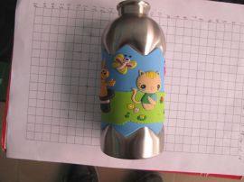 pvc软胶杯套,硅胶隔热杯套,橡胶运动水壶套