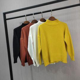 原创品牌女装折扣2018新款羊毛衫特价货源批发走份