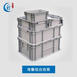 塑料周转箱加厚可带盖全新整理箱中转箱物料流胶框周转箱厂家