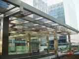 營口大連廠家直銷玻璃雨棚、玻璃擋雨棚