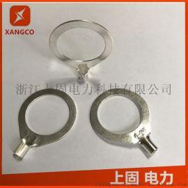 冷压大孔接线端子 OT法兰跨接线铜线耳 接线鼻子
