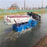 安徽水苲草自动打捞机械 水生葫芦草打捞收集船