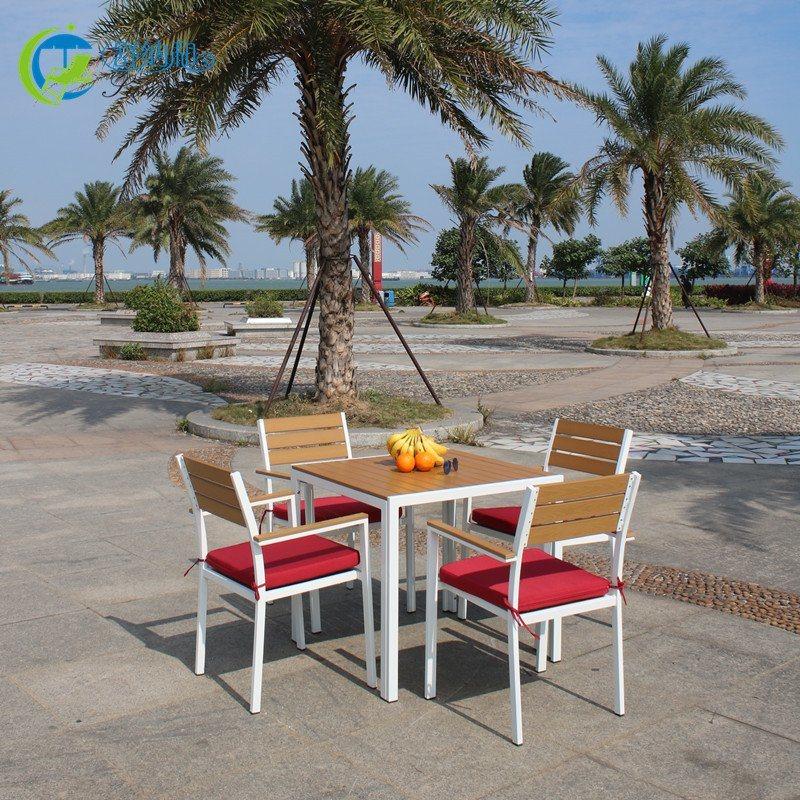 舒纳和厂家直销户外休闲桌椅|园林景观桌椅组合