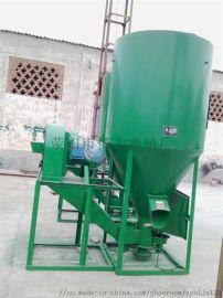 饲料机械粉碎混合机 饲料机组搅拌机