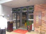 广州铁艺门 餐厅铁门 室外铁门