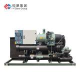 宏星滿液式水源熱泵機組,螺桿水源熱泵