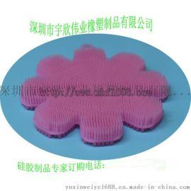洗澡神器矽膠刷 母嬰矽膠用品 模壓食品級矽膠製品