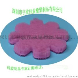 洗澡神器硅胶刷 母婴硅胶用品 模压食品级硅胶制品