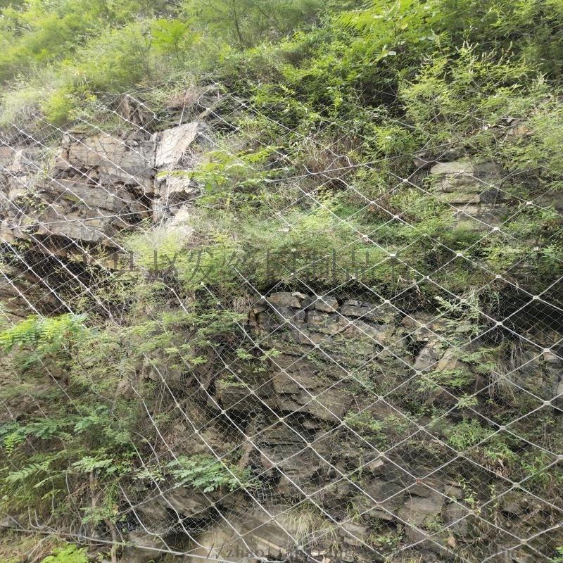 边坡柔性网@边坡柔性防护网生产@边坡柔性网厂家