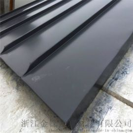 高品质环保美观25矮立边立边咬合铝镁锰屋面板
