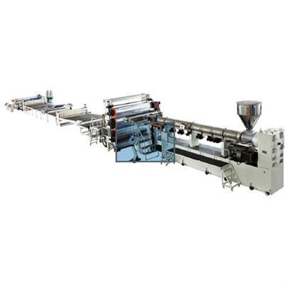 PET/PP/PVC/PE/ABS/PVDF厚板生產線
