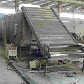耐腐蚀304不锈钢链板输送机