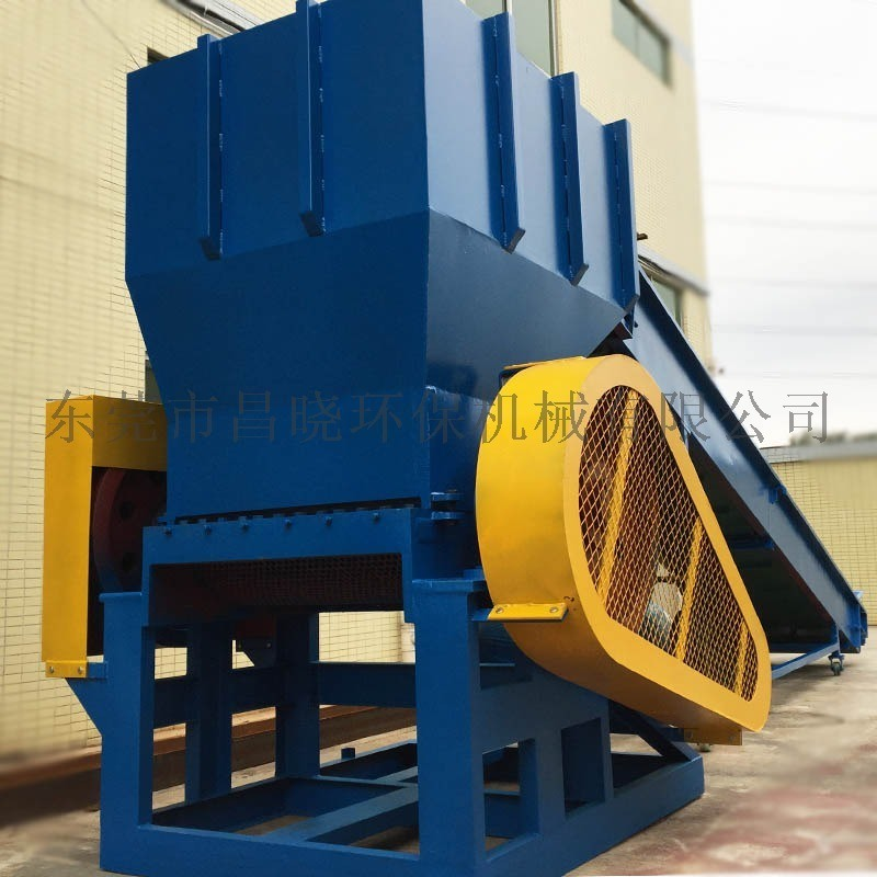 大水桶破碎机 PE废旧塑料回收破碎用设备 化工桶蓝桶破碎清洗设备