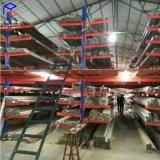 悬臂式货架 钢管板材专用货架 重型仓储架