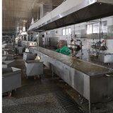 变频调速自动肉丸蒸煮流水线厂家