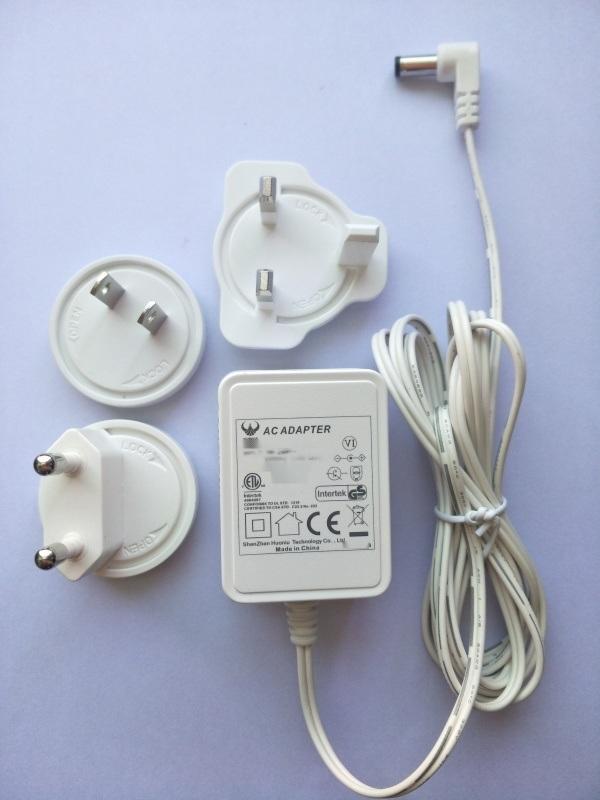 可换插脚电源24V0.5A,欧,美,英,奥,日