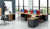 膠板辦公桌28-03A款 綠色環保實木顆粒板