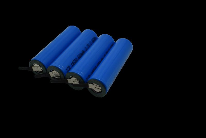 14500-800mah3.7V电动牙刷圆柱锂电池
