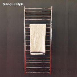 23杆圓管不鏽鋼電熱毛巾架, 高端酒店用電熱毛巾架
