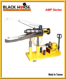 台湾BLACK HORSE全自动电动小车液压拉马