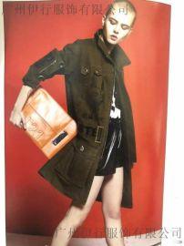 广州潮牌女装亮点国际19年春夏装品牌折扣店直播货源走份