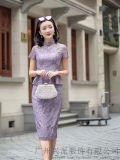 工作服女士职业套装  蕾丝女士职业套装