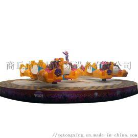 景区游乐设备24人霹雳转盘商丘童星游乐设备厂家