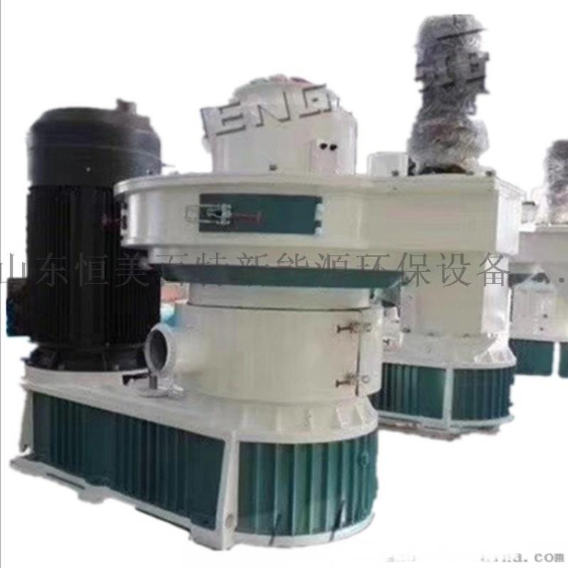 內蒙古燃料顆粒機 生物質木材顆粒機生產線機組