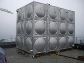 不锈钢生活玻璃钢水箱 云南玻璃钢消防水箱厂家可供应