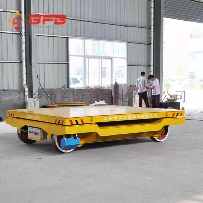 油气田作业自动化80吨电动平板车 火车牵引车