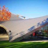25-300型铝镁锰压型板 别墅金属屋面外装板