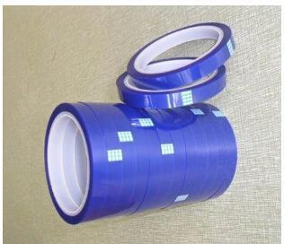 供应耐高温PET绝缘胶带 蓝色硅胶带