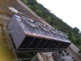 宝钢浊水冷却塔风度3600逆流式工业方形冷却水塔