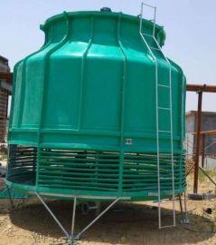 龙轩定制生产圆形逆流式玻璃钢冷却塔 逆流冷却塔